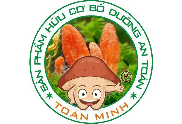 logo trại nấm toàn minh